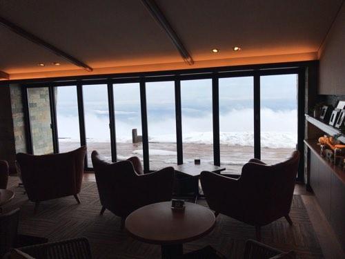 琵琶湖テラスの冬景色
