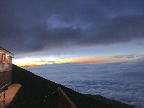 富士山 登山 7合目