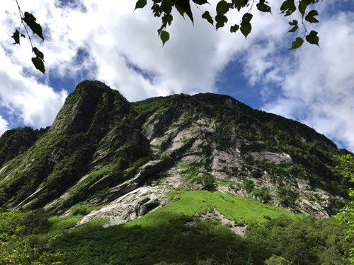 奥穂高岳登山 屏風岩