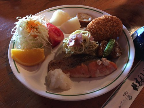 奥穂高山荘 夕食
