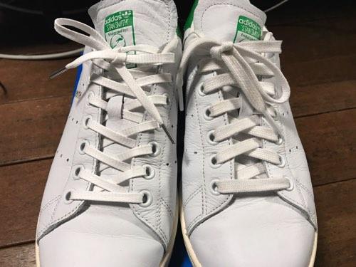 スタンスミス 靴紐 変える