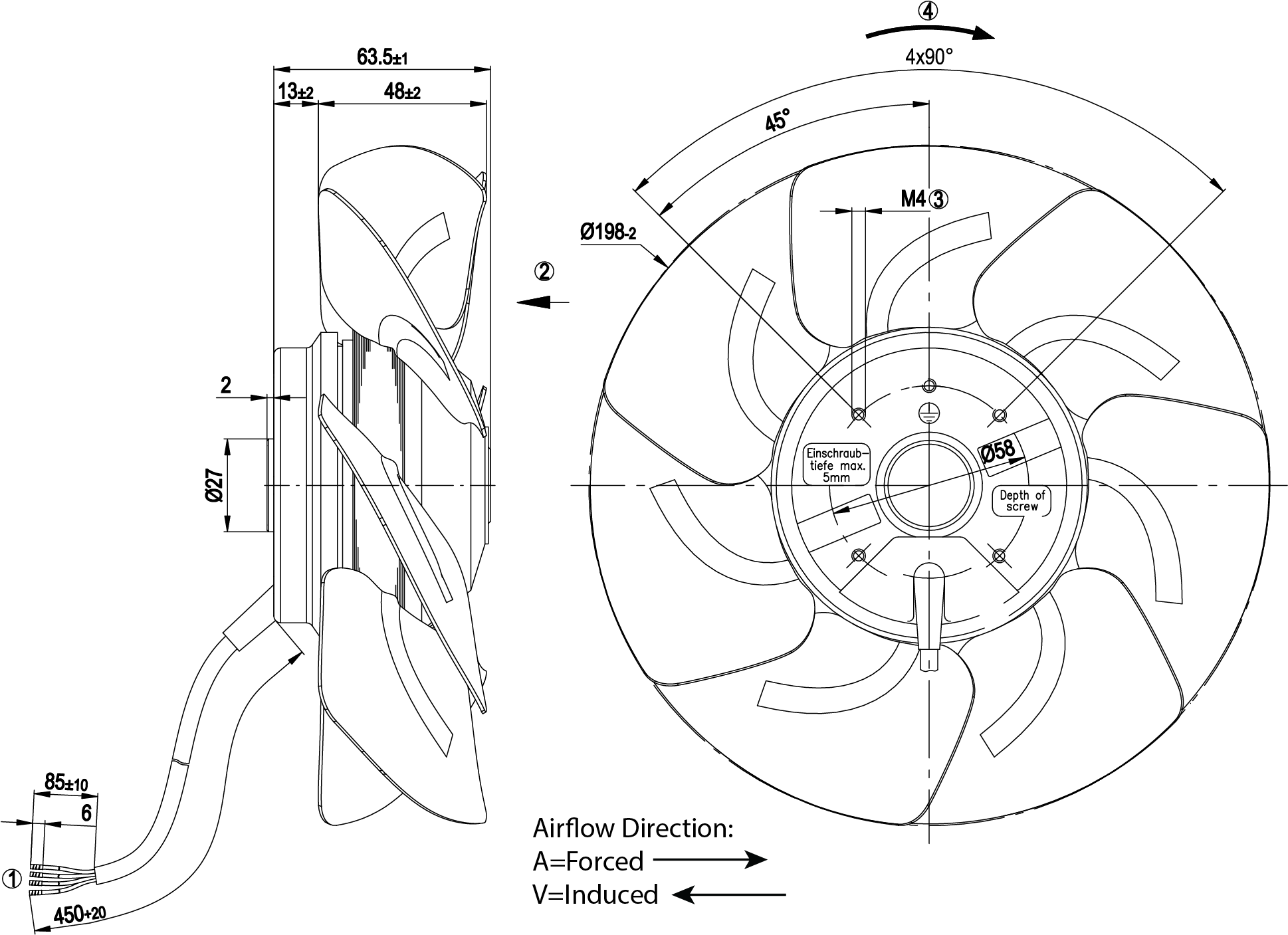 Fan Capacitor Wiring Diagram