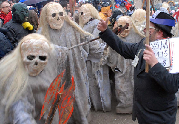 Vevcani Carnival  an interesting mix of paganism and modernism