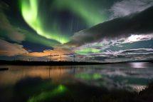 Places Under Aurora Borealis Russia' Kola Peninsula