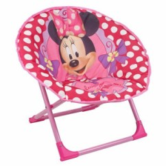 Minnie Mouse Folding Chair Restaurant Chairs Argos Product Support For Disney Foldable Moon Pink