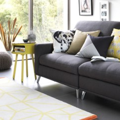 Images Of Grey Living Room Furniture Sofas Settees And Accessories Argos Sofa With Yellow Habitat Side Table Cushions