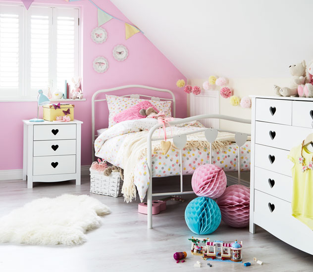 Argos pink bedroom furniture for Bedroom furniture argos