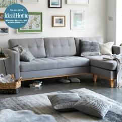 Beach Chairs Uk Argos Ikea Kids Scandinavian Style Inhabit Lounge Featuring Grey Sofa Nature Inspired Wall Art And A Mix Of