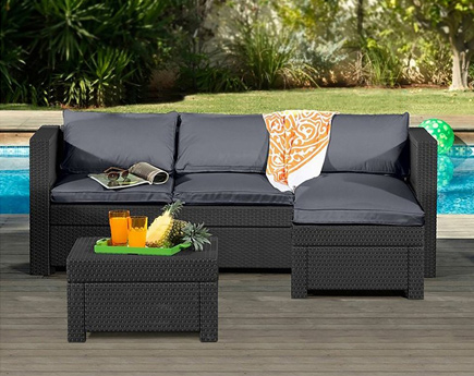 wicker sofa sets uk leather sofas on gumtree in kent how to choose your rattan garden furniture guide argos