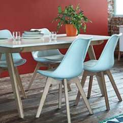 Chair Gym Argos Cover Hire Rockhampton Habitat Go Image Of A Dining Table With 4 White Chairs Around It In Room