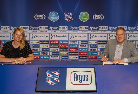 Argos sluit partnerschap met sc Heerenveen