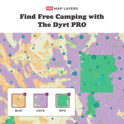 The Dyrt Pro Boundary Maps