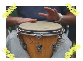 Expression through rythm (percussion group)
