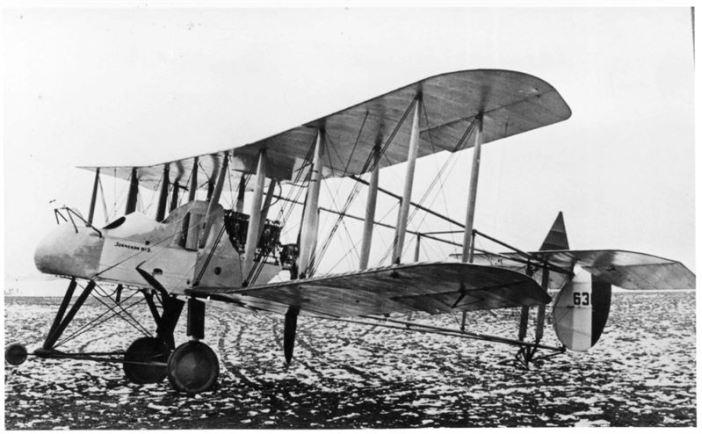 One which Sydney H.B. Harris did fly.