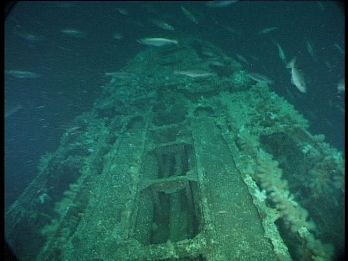 Submarine Wreck of U-155 - Torpedo Holders