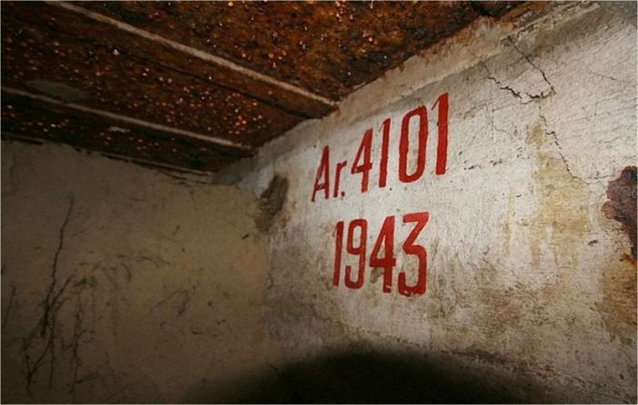 Unearthed Bunker in Arcachon, France