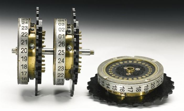 The German Enigma encryption machine sold by Sotheby's. (Credits: Sotheby's)