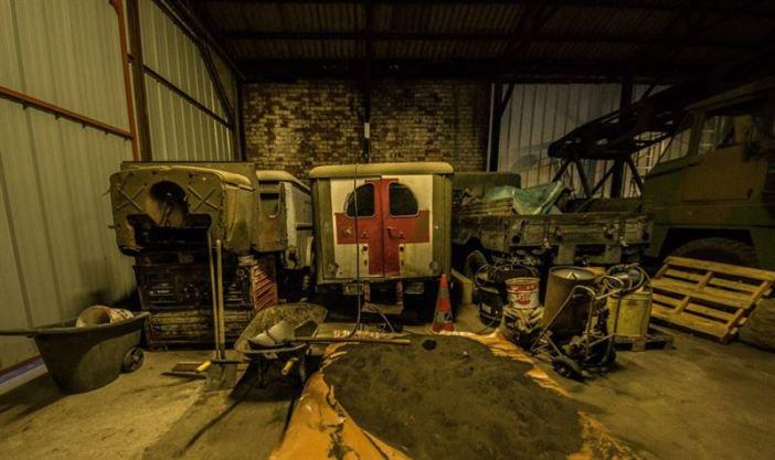 Dodge Ambulance - Hangar full of WW2 Vehicles, Tanks and Classic Cars (442 Explorations / Argunners Magazine)