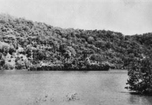 Abraham Crijnssen disguised as a tropical island. (Credits: Wikimedia Commons)