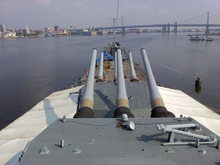USS New Jersey - 1
