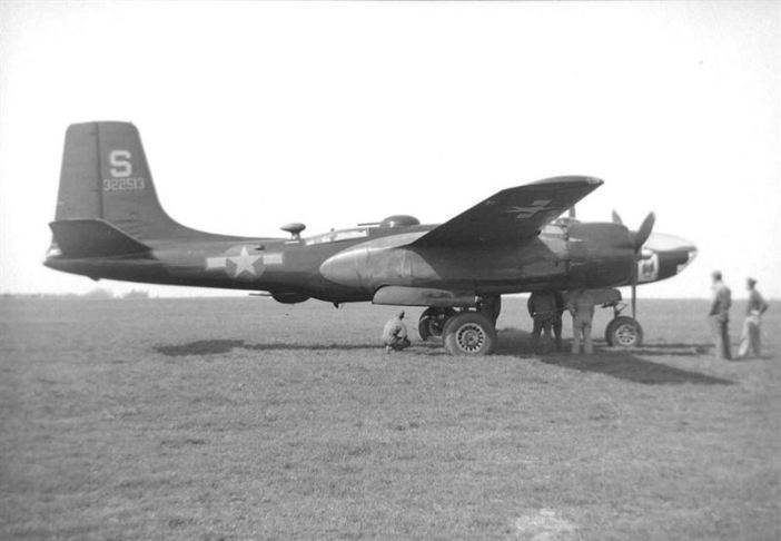 Douglas A-26 Invader assigned to the 801st Bomb Group / 492d Bombardment Group