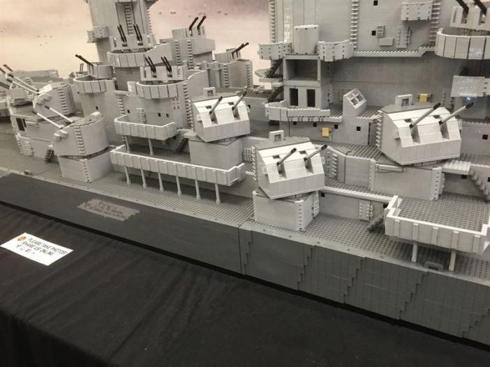USS Missouri Lego - 10