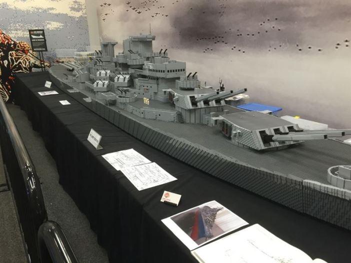 USS Missouri Lego - 9