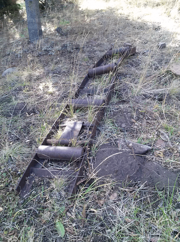 Remains of the POW Camp