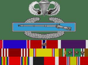 Ribbons awards of Richard Winters (Credits: U.S. Army)