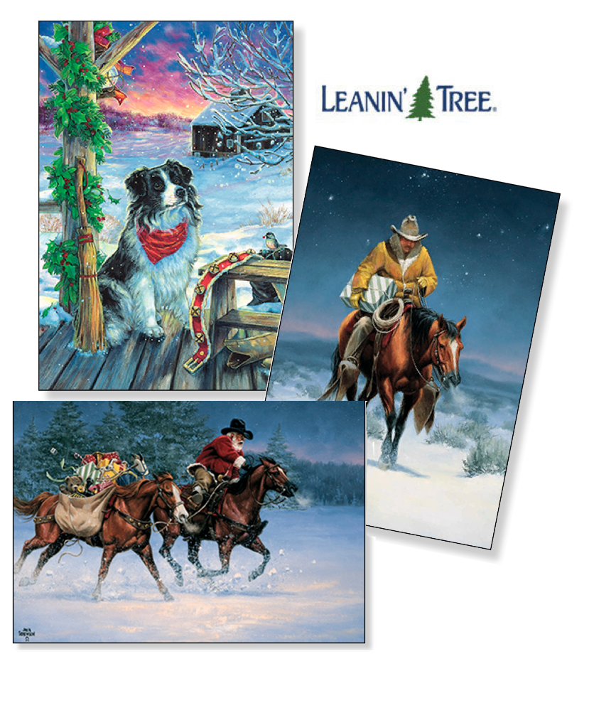Leanin Tree Christmas Cards Now At Argyle Feed Amp Hardware