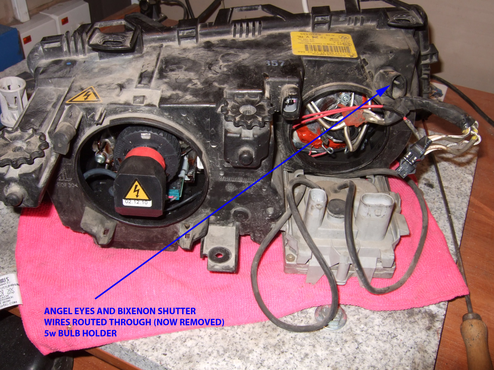 hight resolution of official diy quad bi xenon conversion complete with more than 100 rh forum e46fanatics com bmw r80 wiring schematic bmw r80 wiring schematic