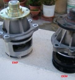 diy stewart water pump expansion tank coolant change 2 tensioner pullies e46fanatics [ 1024 x 768 Pixel ]