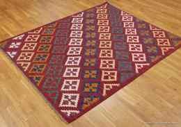 Kashgai kelim matta. Storlek 156 x 190 cm. Refnr 35086