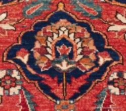 Nazara Turkmen, orientalisk handknuten matta i ren ull