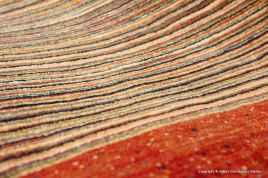 Rizbaf, modern persisk gallerimatta, storlek 98x196 cm
