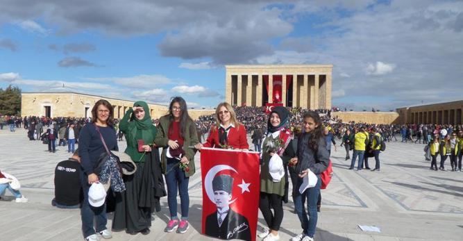 ADD Arhavi Şubesi Öğrencileri 10 Kasım'da Anıtkabir'e Götürdü
