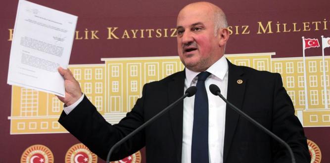 CHP Artvin Milletvekili Uğur Bayraktutan, Arhavi'de Meydana Gelen Sel Felaketini TBMM Gündemine Taşıdı