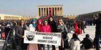 Arhavi ADD Şubesi 10 Kasım'da Yine Anıtkabir'de