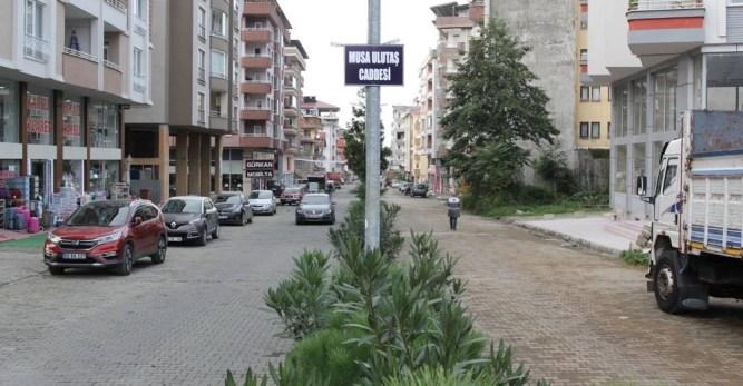 Musa Ulutaş Caddesi'ne Tabelalar Asıldı