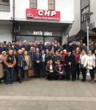 Arhavi'de CHP ve İyi Parti El Ele Gövde Gösterisi Yaptı