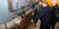 Belediye Başkanı Vasfi Kurdoğlu Su Arıtma Tesisinde İncelemelerde Bulundu