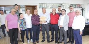 İstanbul Milletvekili Mehmet Bekaroğlu ve Sarıyer Belediye Başkanı Şükrü Genç'ten Başkan Kurdoğlu'ya Ziyaret