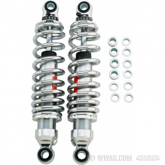 Bitubo WME Series Shocks Chrome Plated With Chrome Springs