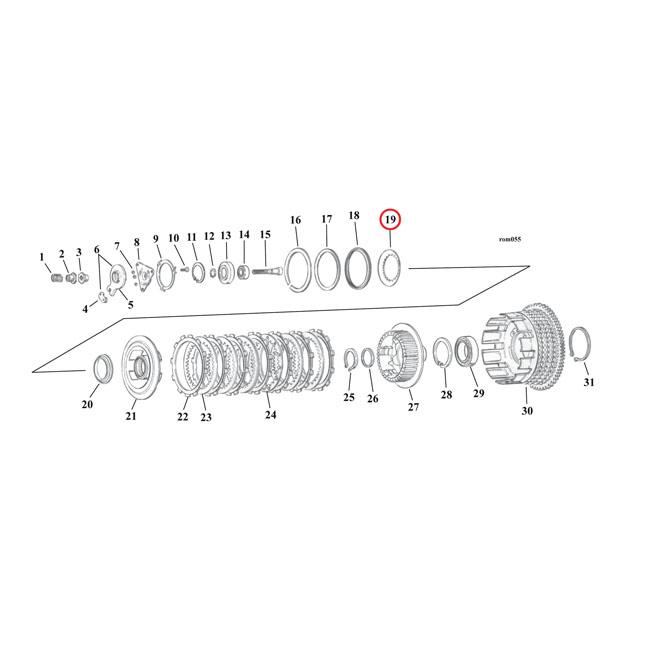 Clutch Parts For Harley Davidson Sportster
