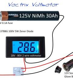 12v voltmeter wiring diagram 28 wiring diagram images yellow voltmeter input impedance voltmeter [ 1008 x 889 Pixel ]