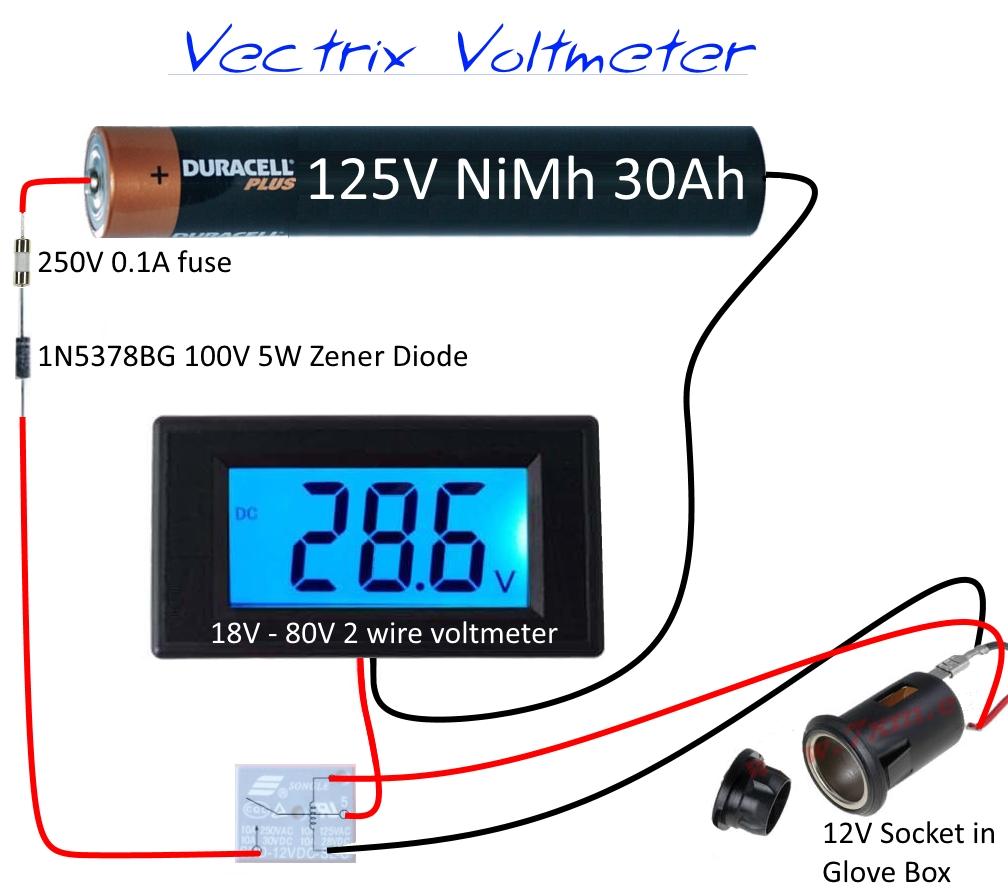 hight resolution of 12v voltmeter wiring diagram 28 wiring diagram images yellow voltmeter input impedance voltmeter