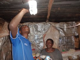 Mabati Water Light