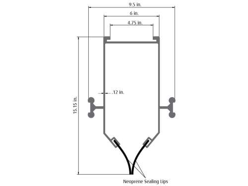 small resolution of  ari 3000 aluminum channel duct diagram