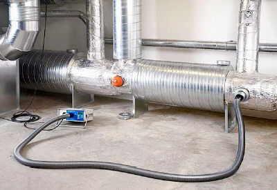 prove di tenuta canali aria