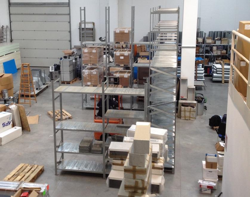 Riorganizzazione magazzino